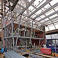 Projet de rénovation de la tour eiffel au pavillon de l'arsenal