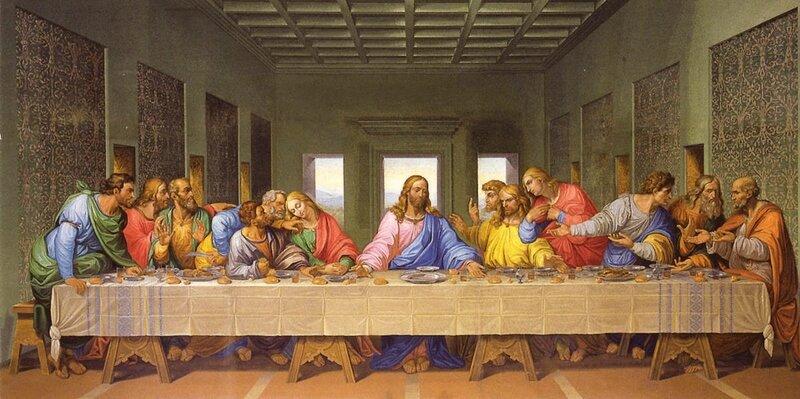 Jeudi saint léonard de Vinci