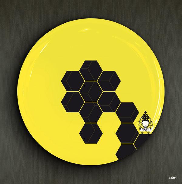 Zaya ruche, porcelaine D.26cm / 22,00€ l'unité