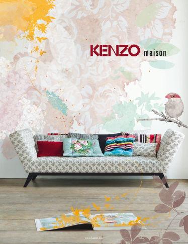 kenzo maison automne hiver 2009 2010 une very stylish fille by changer de d co. Black Bedroom Furniture Sets. Home Design Ideas
