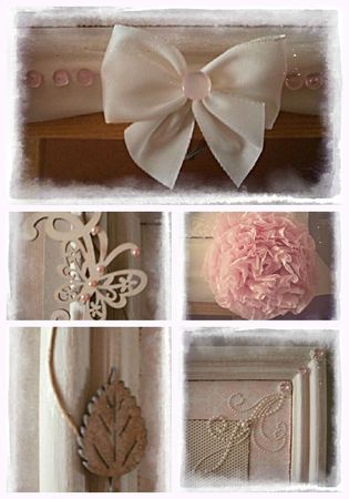 cadre shabby Collage