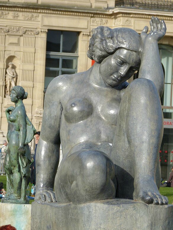MAILLOL STATUES TUILERIES 2014
