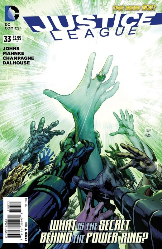 new 52 justice league 33
