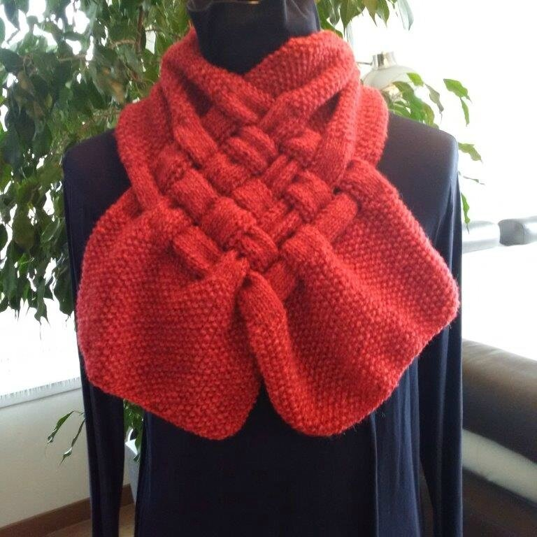 snood tressé Brodyzen