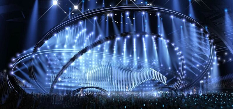 scène eurovision 2018