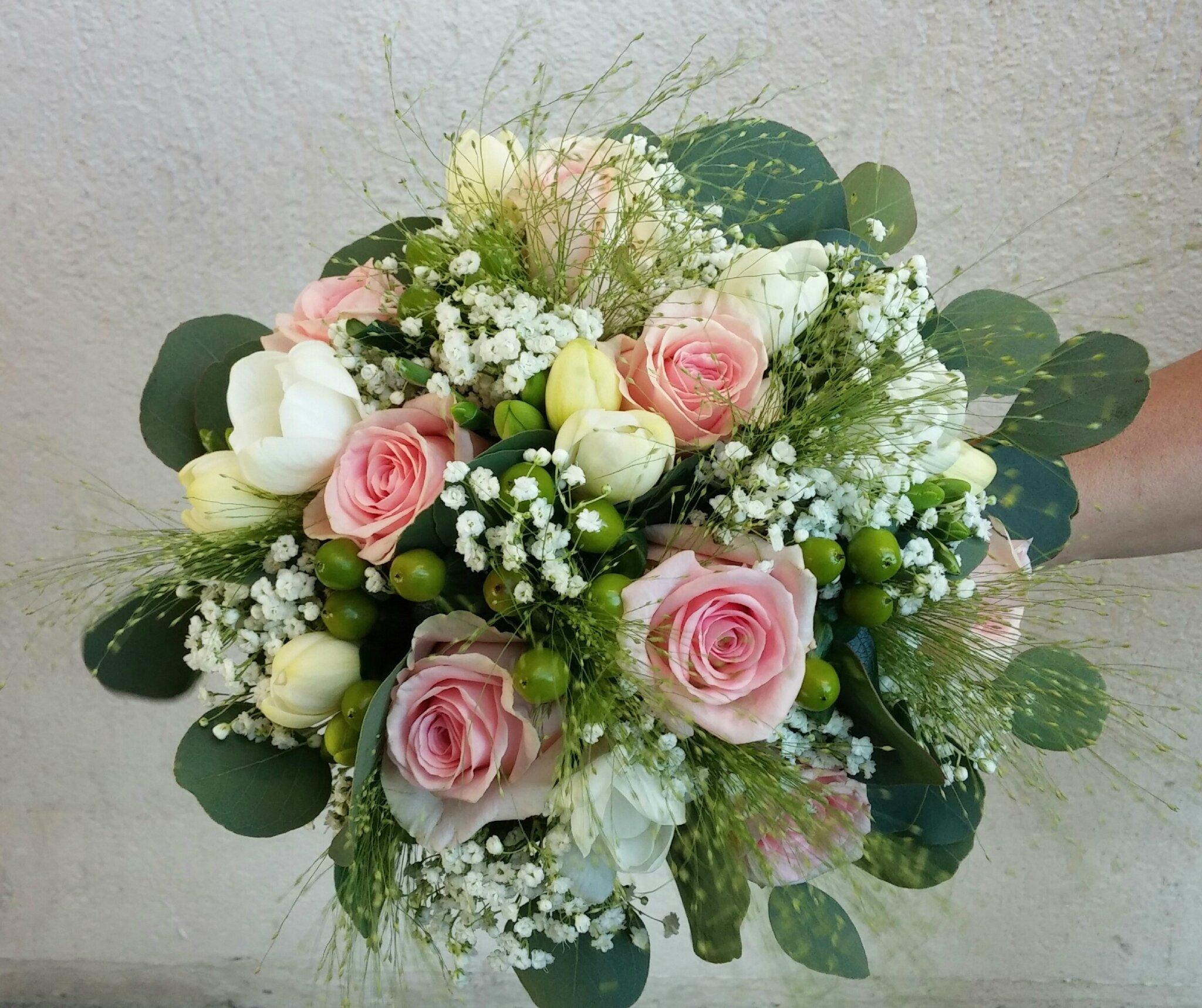 Bouquet de mariee flore et sens 74 - Bouquet mariee rose ...