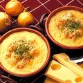 Crème à l'oignon à la suisse