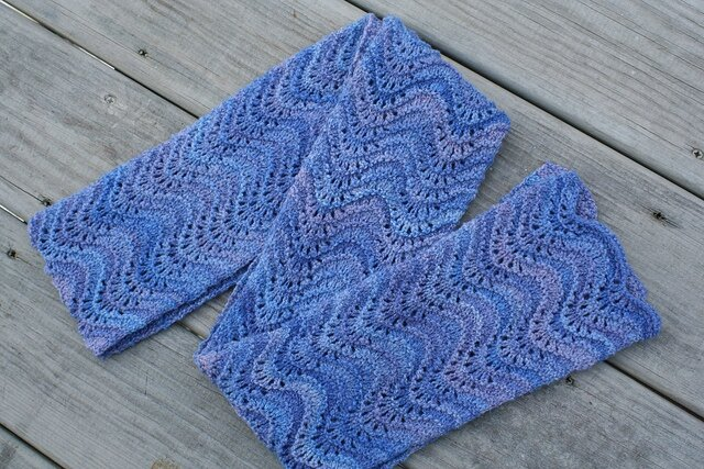 crochet waves au tricot 1