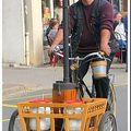 Le vélo à vapeur...