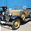 Ford model a 4door phaeton