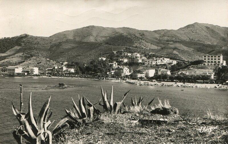 481 Vue d'ensemble de la Baie et les Albères 1960