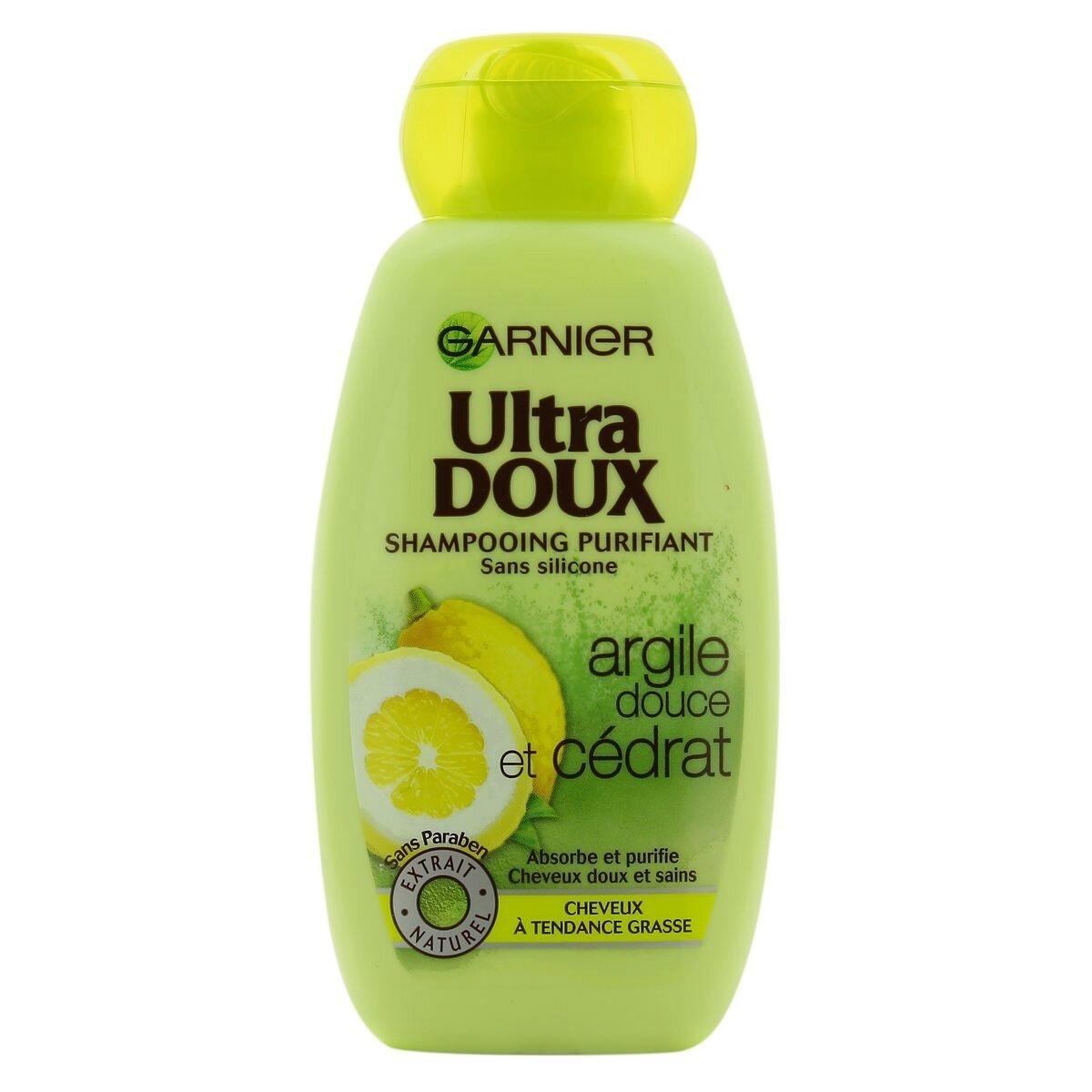 shampooing ultra doux l 39 argile et au c drat garnier une lady peut en cacher une autre le. Black Bedroom Furniture Sets. Home Design Ideas
