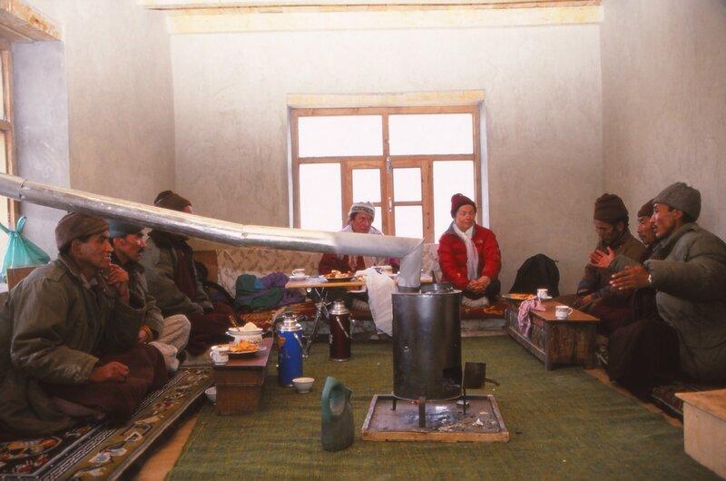 Zanskar meeting dans le dispensaire (3)