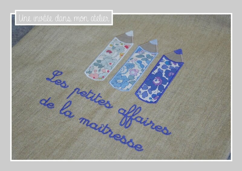 tote bag-cadeau-institutrice-Liberty-betsy-bleu