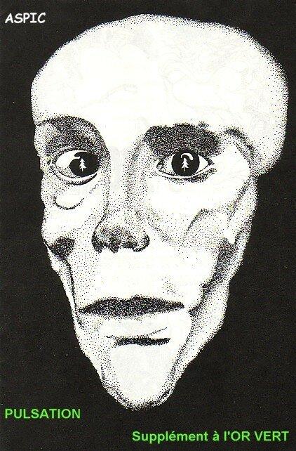PULSATION supplément poétiquede L'OR VERT 1974