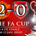 Man utd 2 - 0 arsenal (fa cup)