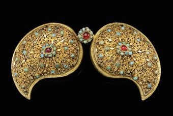 Iranian Amp Turkish Jewelry 11th To 19th Century And Later