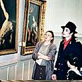Michael jackson au pushkin museum of fine arts de moscou (russie) le 16 septembre 1996