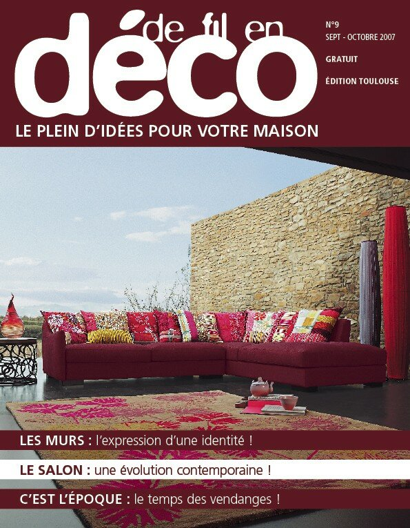le magazine de fil en d co parle du home staging option d co le mag. Black Bedroom Furniture Sets. Home Design Ideas