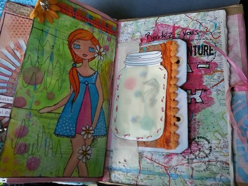 Art Journal En Vacances 14