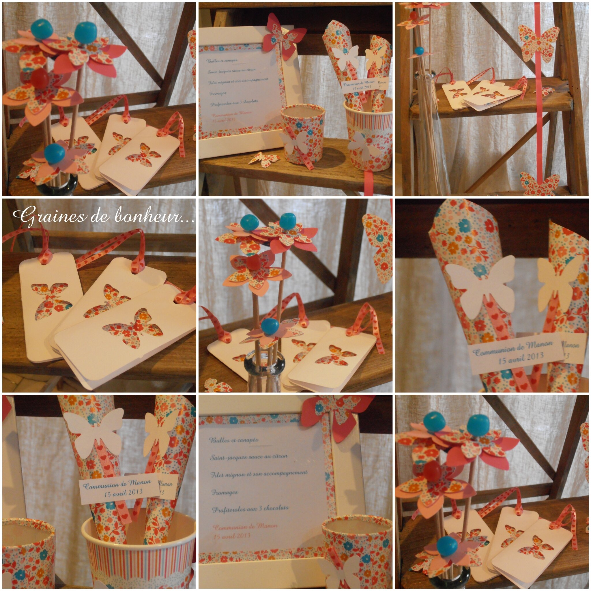 Atelier D Co De Table Sp Cial Communion Graines De