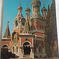 Nice - cathédrale Orthodoxe Russe