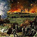Reims sous les bombes 1914
