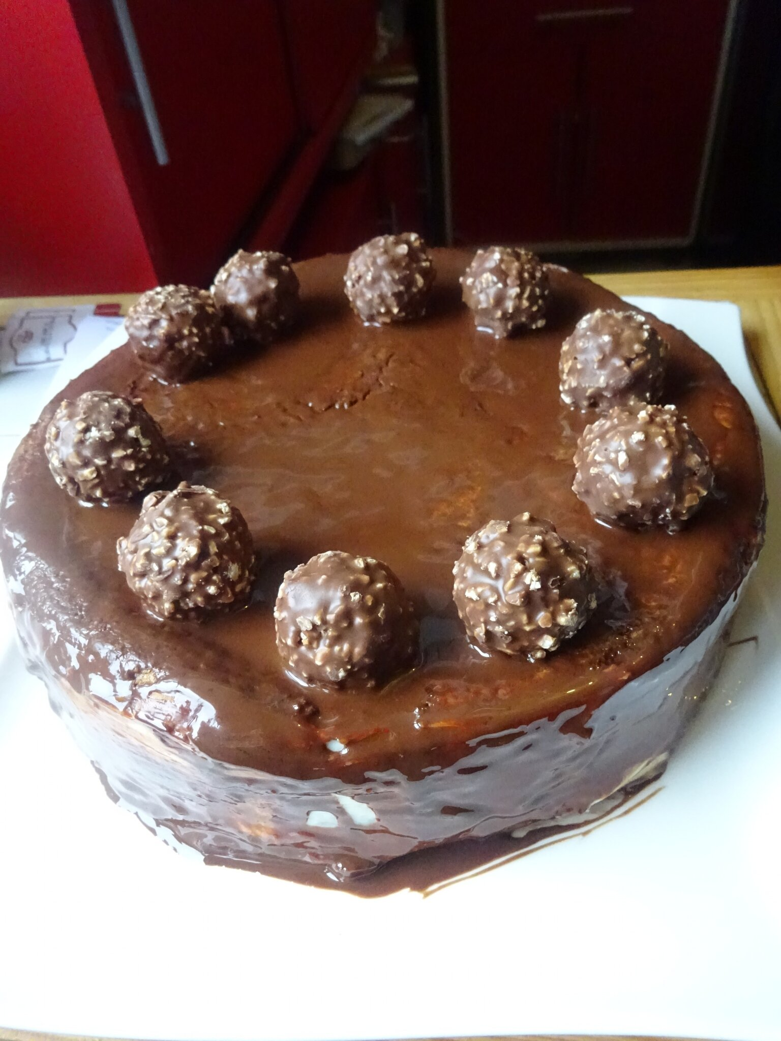 Le Layer Cheescake au Ferrero et Nutella