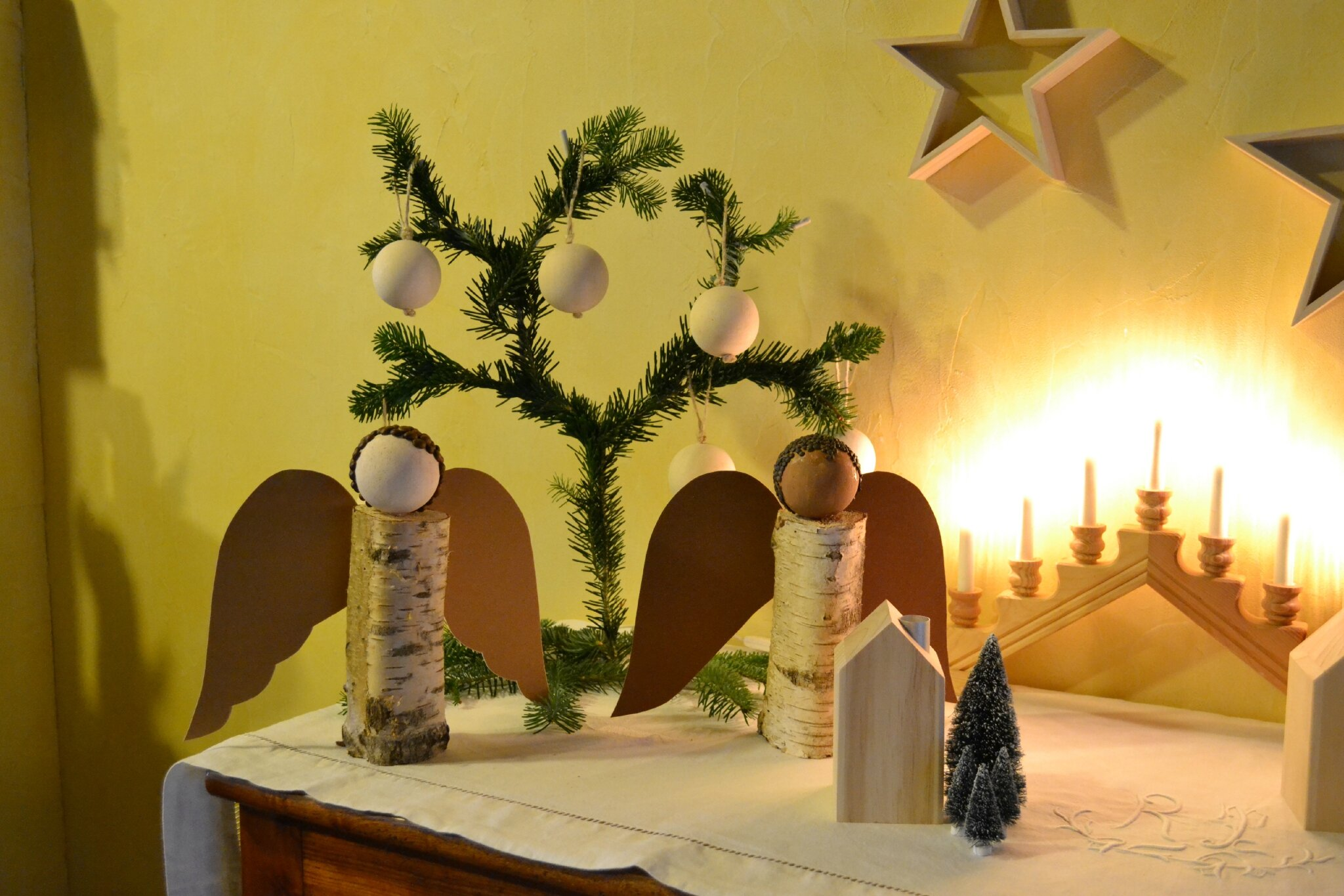 Decoration Buche De Noel Cultura