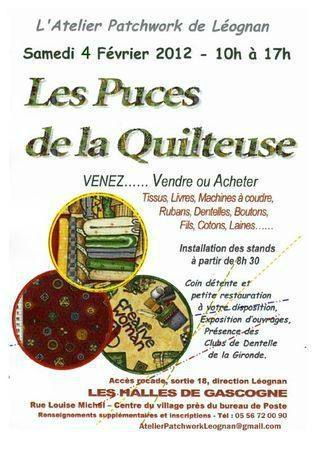Puces quilteuse 2012