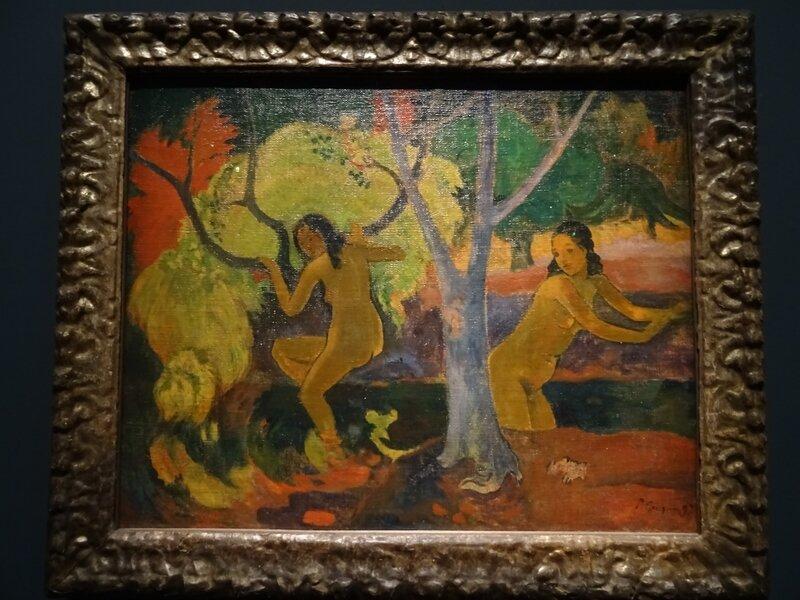 Gauguin Baigneuses à Tahiti 1897
