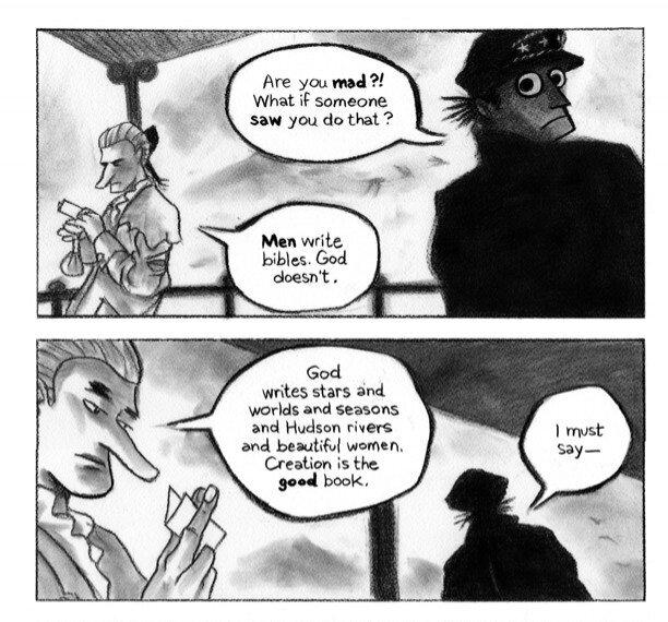 Sailor Twain - discussion entre Twain et Lafayette sur la Bible et la Création