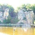 Plage au bord de la Dordogne