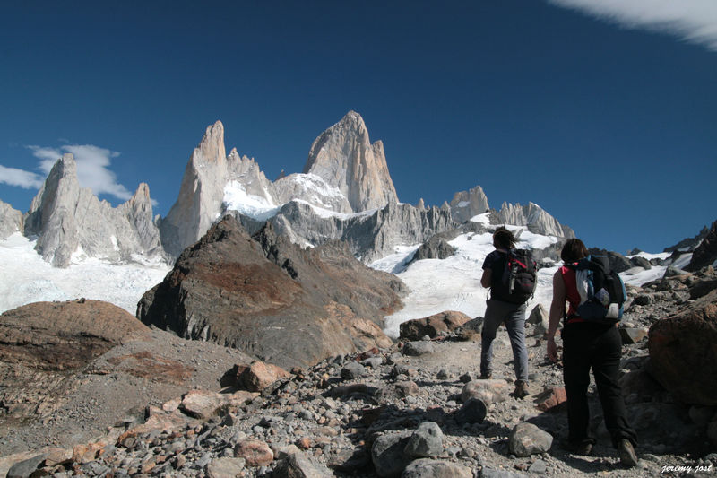 ascension vers le Fitz Roy