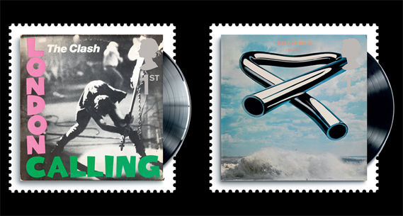 London_Calling_The_Clash_Mike_Oldfield_Timbres_stamps