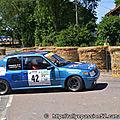 2011 : Rallye du Val d'Orain ES 2