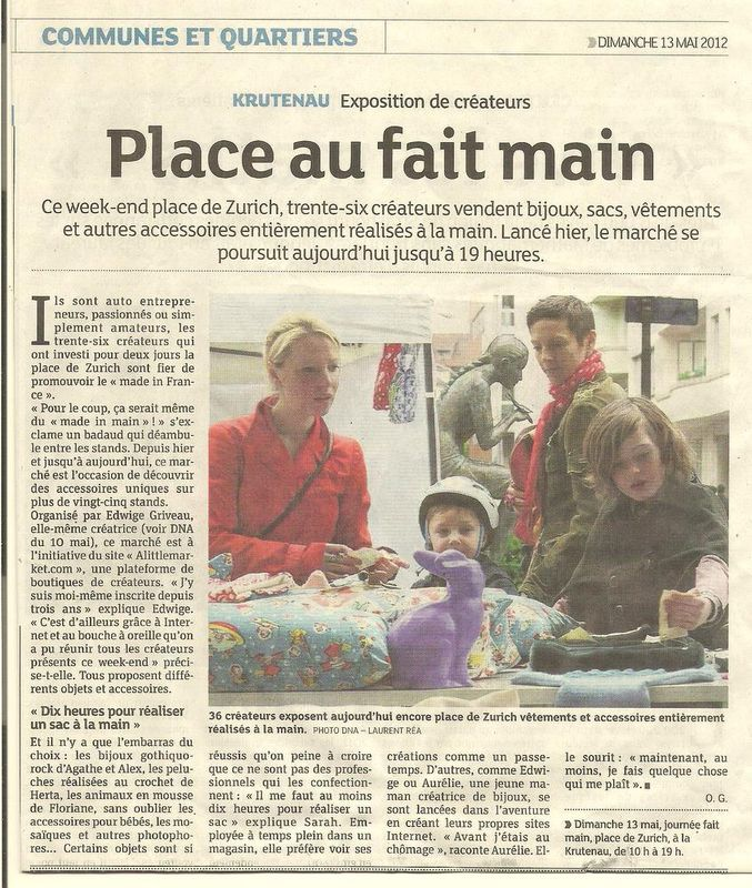 We du Fait-Main 12/13 Mai 2012