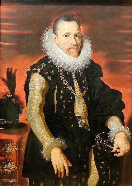 Archiduc Albert_VII,d'Auriche 1559 1621 peint par Peter_Paul_Rubens