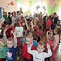 Les courriers français au jardin d'enfant de Kungur