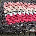 Baby blanket au crochet...