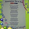 Ma poésie primé au prix littéraire -Juin 2006 -