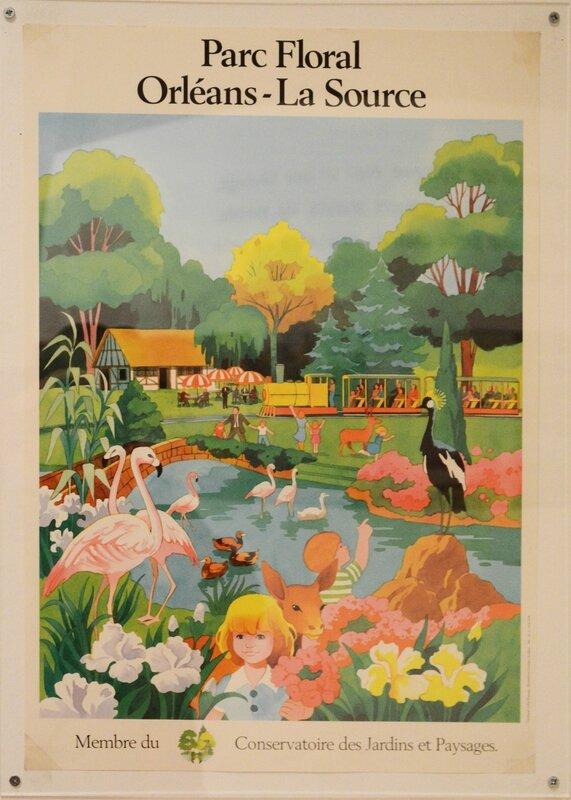 Affiche du Parc floral de la Source - Orléans
