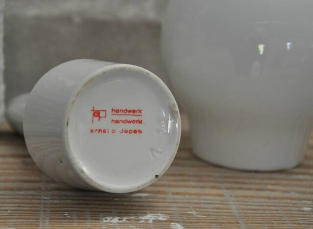 vase blanc nordique signature
