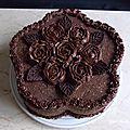 Gâteau butternut au chocolat fourré poire & speculoos