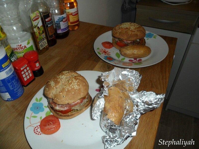 Hamburgers maisons italiens -- 2