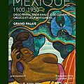 Mexique (1900–1950), exposition au grand palais, à paris