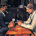 The royal family of Qatar purchases Paul Cezanne's Card Players for a record $250 million
