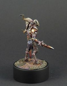 Alderan, guerrier Crâne peint par Arjay 04