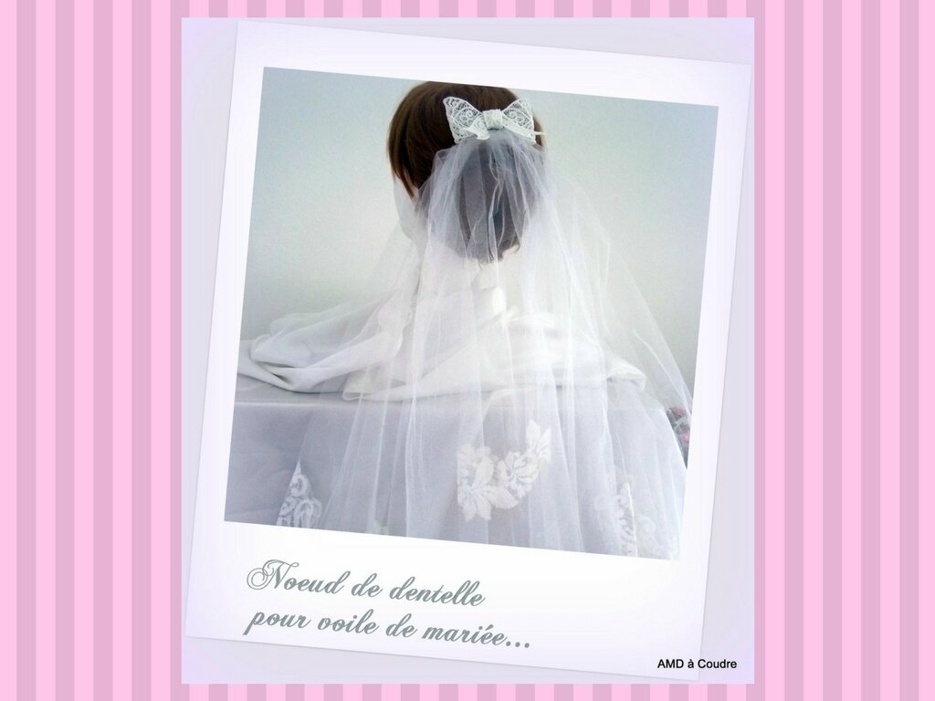 MARIAGE WEDDING ACCESSOIRES BRODERIE DENTELLE AMD A COUDRE (11)