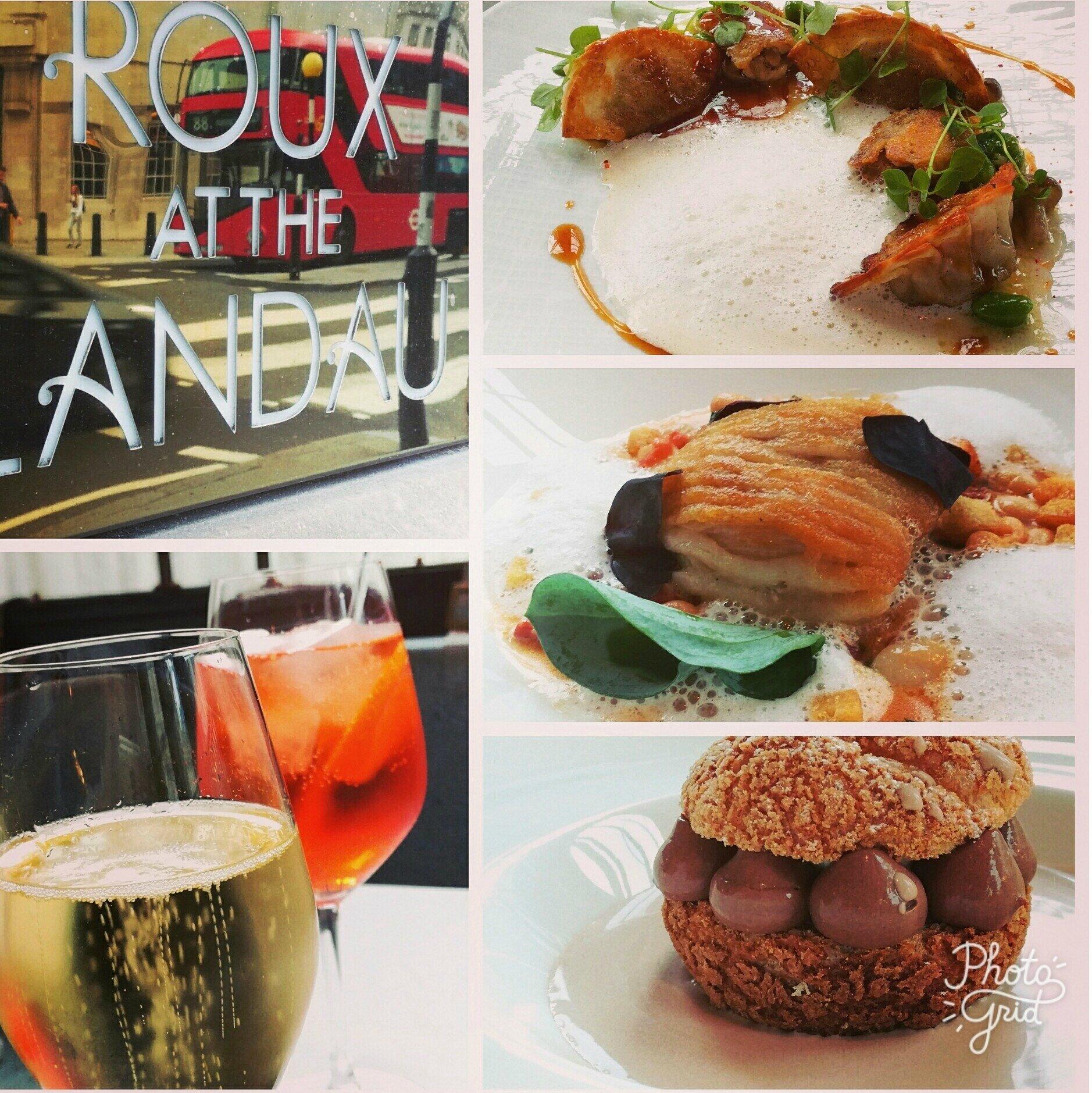 Roux at the Landau... une expérience Gastronomique à Londres